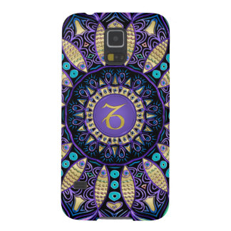Zodiac Sign Capricorn Mandala Galaxy S5 Covers