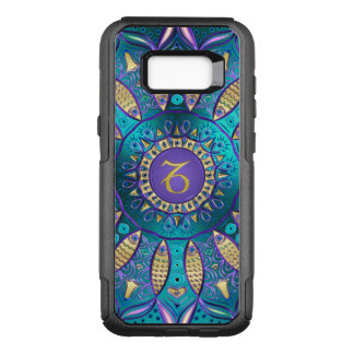 Zodiac Sign Capricorn Mandala OtterBox Commuter Samsung Galaxy S8+ Case