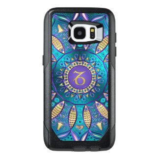 Zodiac Sign Capricorn Mandala OtterBox Samsung Galaxy S7 Edge Case