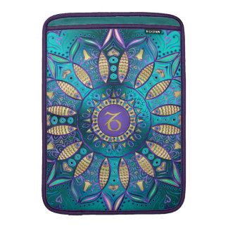 Zodiac Sign Capricorn Mandala Sleeve For MacBook Air