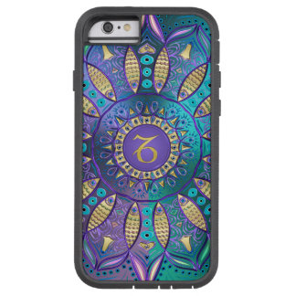 Zodiac Sign Capricorn Mandala Tough Xtreme iPhone 6 Case