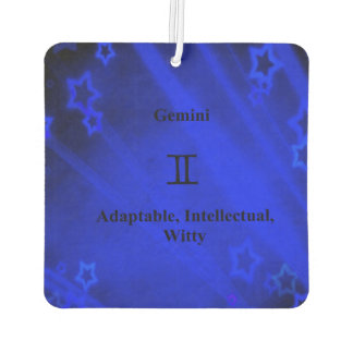 Zodiac Sign: Gemini Car Air Freshener