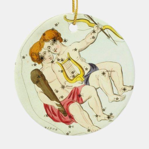 Zodiac Sign: Gemini Ornament