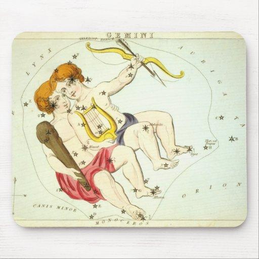 Zodiac Sign: Gemini Mouse Pads