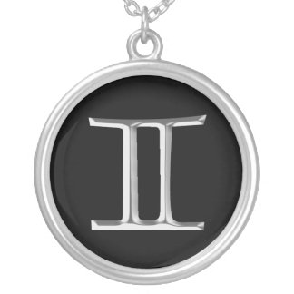 Zodiac Sign Gemini necklace