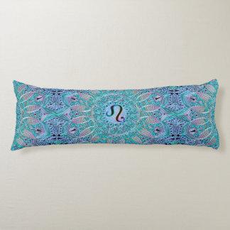 Zodiac Sign Leo Lace Mandala Body Cushion