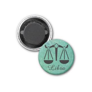 Zodiac Sign Libra Astrology Symbol Sapphire Magnet