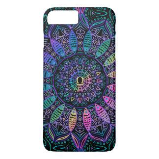 Zodiac Sign Libra Colorful Mandala iPhone 7 Plus Case