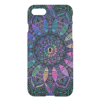 Zodiac Sign Libra Colorful Mandala iPhone 8/7 Case