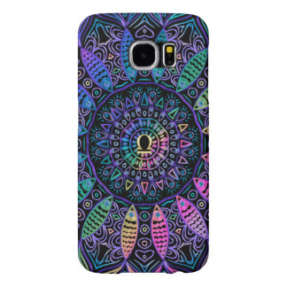 Zodiac Sign Libra Colorful Mandala Samsung Galaxy S6 Cases