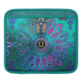 Zodiac Sign Libra Mandala iPad Sleeve