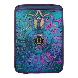 Zodiac Sign Libra Mandala MacBook Sleeve