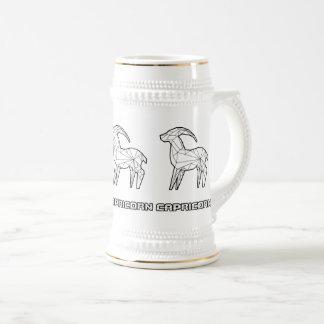 Zodiac Sign Mug:Capricorn Beer Stein