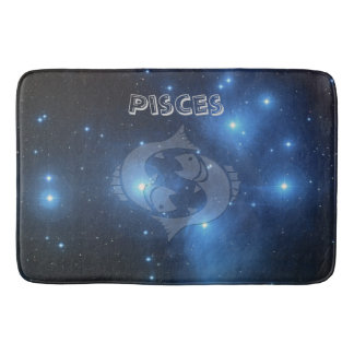 Zodiac sign Pisces Bath Mat
