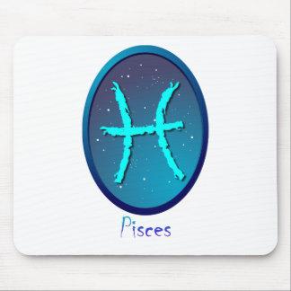 Zodiac sign Pisces Mousepad