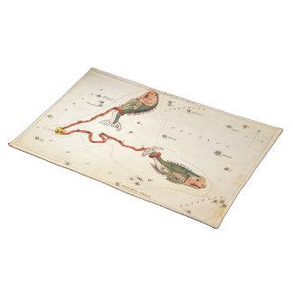 """""""Zodiac Sign: Pisces"""" placemat"""