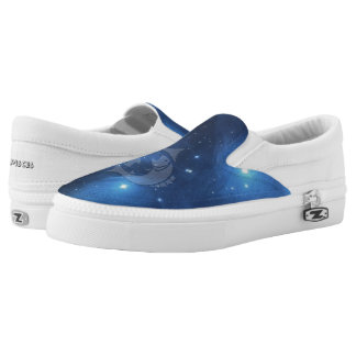 Zodiac sign Pisces Printed Shoes