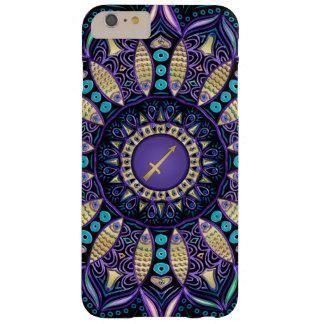Zodiac Sign Sagittarius Mandala Barely There iPhone 6 Plus Case