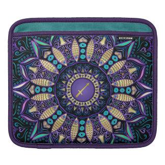 Zodiac Sign Sagittarius Mandala iPad Sleeves