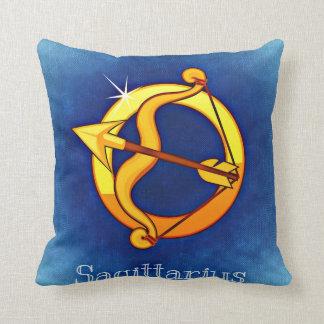 Zodiac sign Sagittarius Throw Pillow