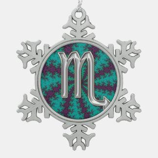 Zodiac Sign Scorpio Christmas Ornament
