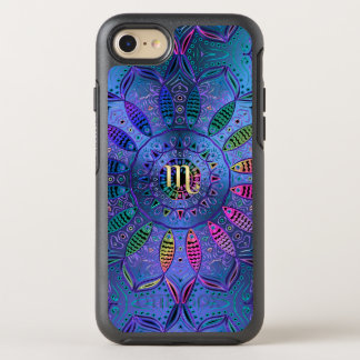 Zodiac Sign Scorpio Mandala OtterBox Symmetry iPhone 8/7 Case