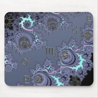 Zodiac Sign Scorpio Mystical Symbols Mousepad