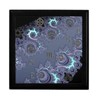 Zodiac Sign Scorpio with Mystical Symbols Gift Box