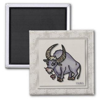 Zodiac Sign Taurus Magnet