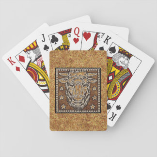 ZODIAC SIGN TAURUS PLAYING CARDS