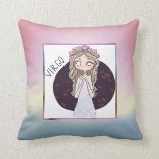 Zodiac Sign - Virgo - August 23 – September 22 Throw Pillow