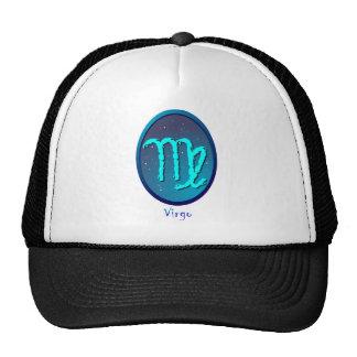 Zodiac sign Virgo Mesh Hats