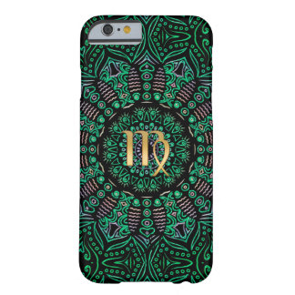 Zodiac Sign Virgo Mandala Barely There iPhone 6 Case
