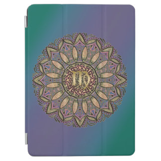 Zodiac Sign Virgo Mandala Earth Tones iPad Air Cover