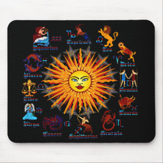 Zodiac-Signs-All-V-1 Mouse Pad