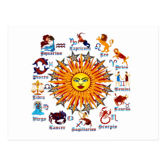 Zodiac-Signs-All-V-1 Postcard
