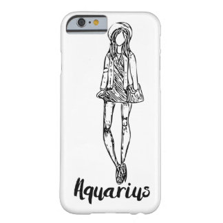 Zodiac Signs Aquarius Fashion iPhone Case