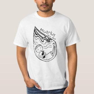 Zodiac Signs: Aquarius Tshirts