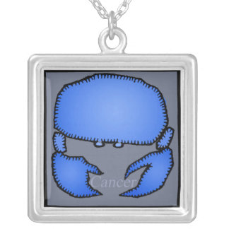 Zodiac Signs Cancer Birthday Necklace