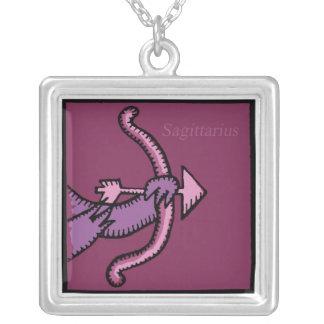 Zodiac Signs Sagittarius Birthday Necklace