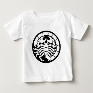 Zodiac Signs Scorpio Scorpion Icon Baby T-Shirt
