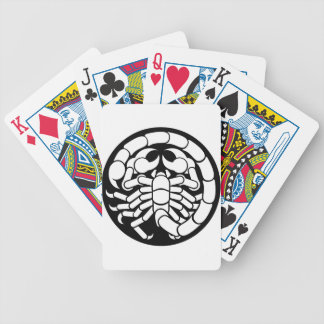 Zodiac Signs Scorpio Scorpion Icon Bicycle Playing Cards