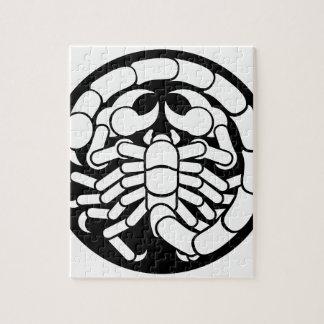 Zodiac Signs Scorpio Scorpion Icon Jigsaw Puzzle