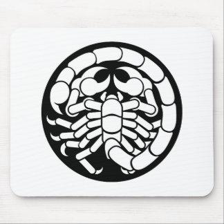 Zodiac Signs Scorpio Scorpion Icon Mouse Pad