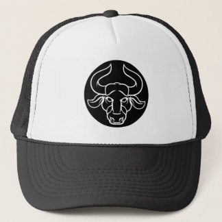 Zodiac Signs Taurus Bull Icon Trucker Hat