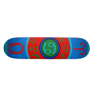 Zodiac Skateboard Birth Sign Cancer