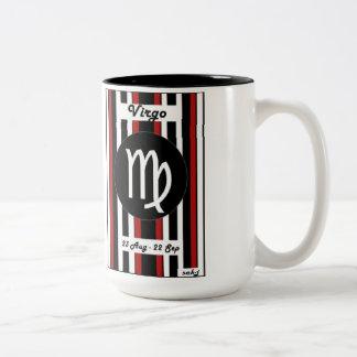Zodiac Stripe Mug - Virgo