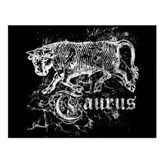 Zodiac Taurus Postcard