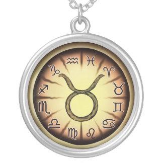 Zodiac Taurus symbol Necklace