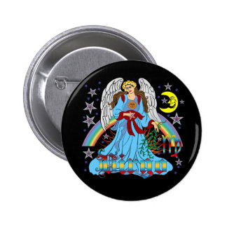 Zodiac Virgo V-1 6 Cm Round Badge